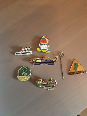 F1 Pin Badges Assorted