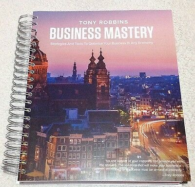 Anthony Robbins Business Mastery Part 1 and 2 Amsterdam 2017 Manual
