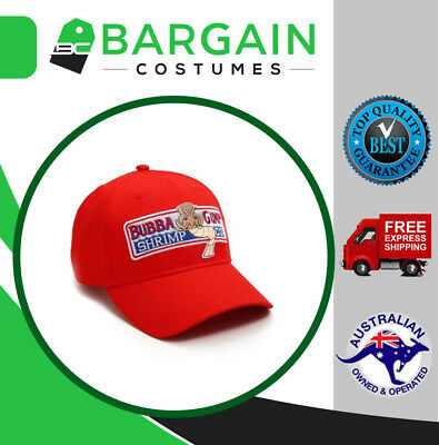Forrest Gump Bubba Gump Shrimp Co Hat Fancy Dress Halloween Party Costume Cap