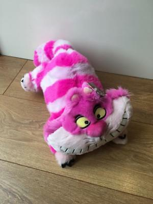 NEW Disney Store Exclusive Alice in Wonderland Cheshire Cat Large Soft Plush Toy