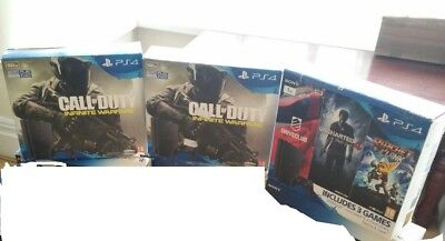 4 PS4 Empty Outer BOX Boxes