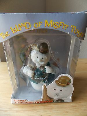 1999 Rudolph and The Island of Misfits CVS Exclusive Sam the Snowman Ornament