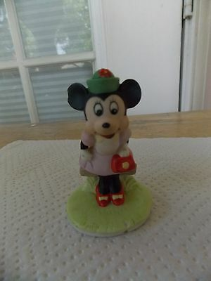 1987 Disney Collection Minnie Mouse Figurine