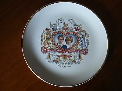 Charles and Diana 1981 Commemorative Plate