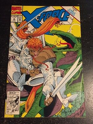 X-force#6 Incredible Condition 9.0(1992) Stryfe App,Liefeld Art!!