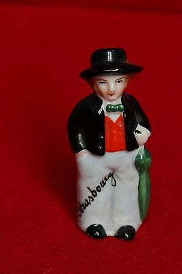 Collection - Ancienne Porcelaine Signee Allemagne Strasbourg Sel Saliere