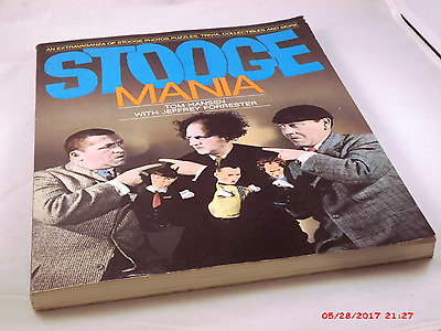 Rare - Stooge-Mainia.  An Extravaganza Of Stooge Photos, Puzzles, Trivia & More