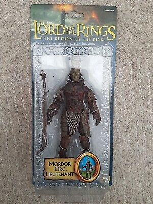 The Lord of the Rings Return of the King Mordor Orc Lieutenant ToyBiz Brand New