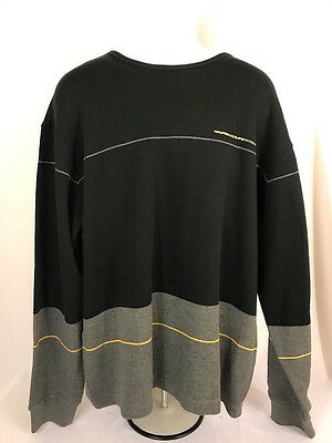 VINTAGE 90s NAUTICA COMPETITION Mens Sweatshirt Pullover Spellout - XXL