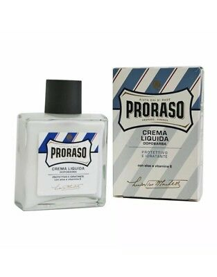 Proraso After Shave Balm Protective And Moisturiser 100ml Aus Seller