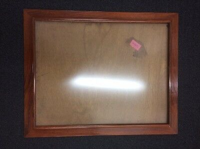Chinese Watercolour/ Scroll Mahogany Picture Frame