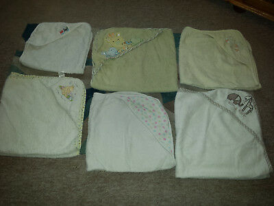 Baby Bundle of Hooded Towels