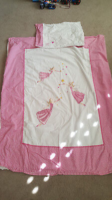Great Little Trading Company (GLTC) Fairy Toddler / Cot Duvet Set