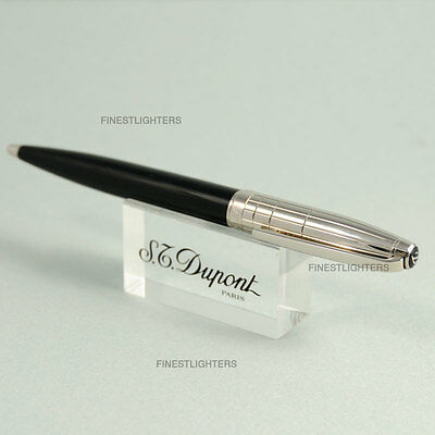 """S.t. Dupont """"black And White"""" Olympio Ball Point Pen - New In Box"""