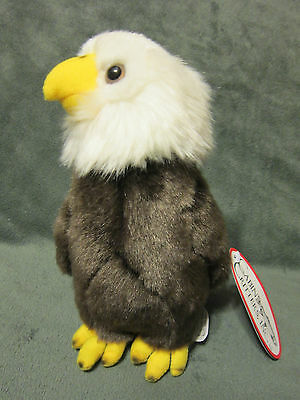 "8"" Cabin Critters 2002 Eagle Plush Animal Stuffed w/ Tags EUC"