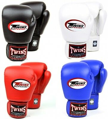 8 10 12 14 oz PU Leather Kick Boxing Gloves Fight Training Sparring Muay Thai