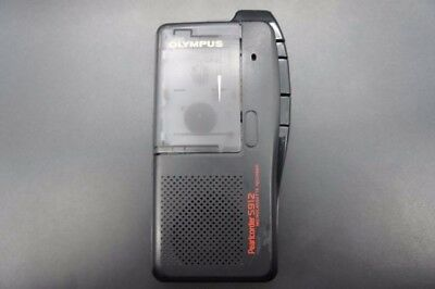 Olympus Pearlcorder S912 Microcassette Recorder Voice Recorder Black
