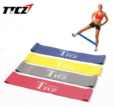 Resistance Loop Bands Exercise Crossfit Fitness Strength Toning Physio Mini Band