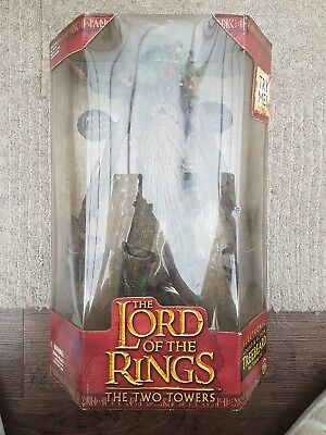 The Lord of the Rings The Two Towers Electronic Treebeard 2002 ToyBiz Brand New