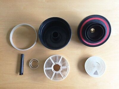 Paterson System 4 Film Developing Tank 35mm and 126, Complete