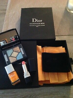 Backstage Box 2014 Palette make up Dior