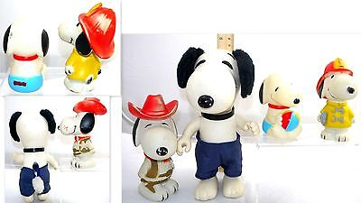 Great Peanuts Gang Snoopy Figures Lot Action Figure