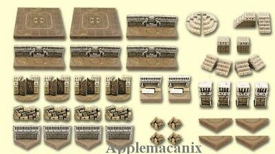 NEW Dwarven Forge Realm of the Ancients 2 Set Master Maze MM-035 Resin D&D NISB