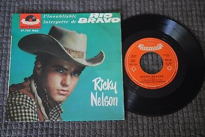 Ricky Nelson - Restless Kid + 3. Polydor France 1960, 45 Rpm