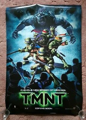 TMNT Original UK one sheet movie posters
