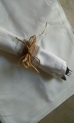 lovely rustic napkin holders 6 in pack