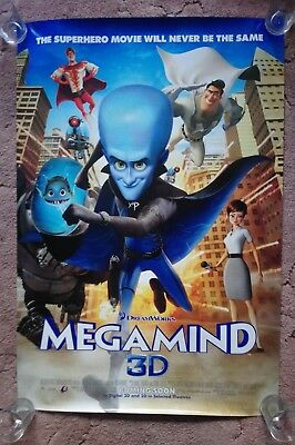 Megamind Original UK one sheet movie posters