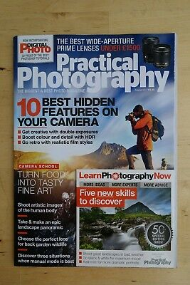 Practical Photography magazine August 2017  + photograph food