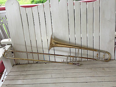 Cleavland Superior Trombone Made by King Craftsmen No Case As Is