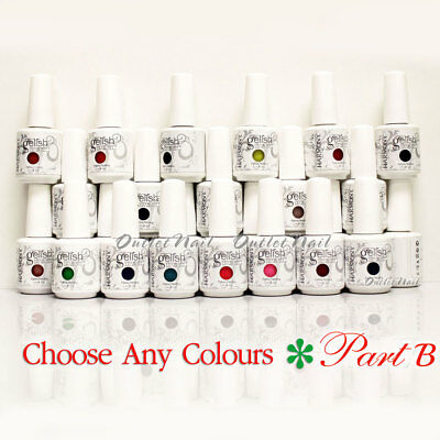 GELISH HARMONY - PART B Soak Off Gel Nail Polish Set UV Nail - Pick ANY Color