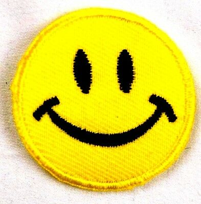 iron-on patch appliqué 11-756 Smiley
