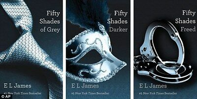 E L JAMES FIFTY 50 SHADES OF GREY TRILOGY - DARKER, FREED BOOKS | On PDF Digital