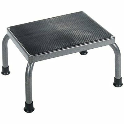 Drive Medical Footstool With Non Skid Rubber Platform Care