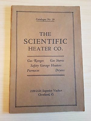 1919 The Scientific Heater Company Cleveland Ohio, Catalog, Illustrated Booklet