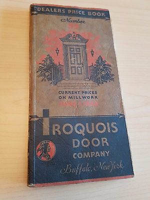 1931 Iroquois Door Company Buffalo, New York, Dealers Price Booklet, Illustrated