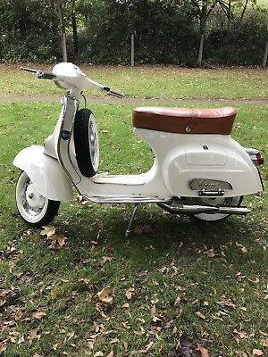 Classic Vespa Scooter 150cc registered 125cc