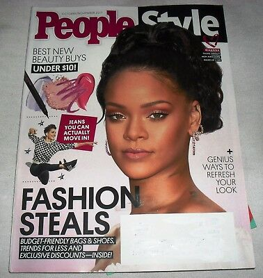 Rihanna Covr Makeup Line People Style Magazine October/November 2017 NEW Fashion