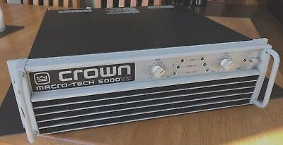 CROWN AMPLIFIER MACRO-TECH 5000VZ - used in working order
