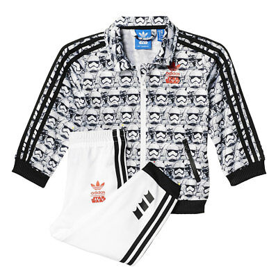 Adidas Originals Star Wars Villain 2 Firebird Tracksuit Baby Kids Children Set
