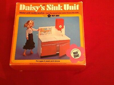 mary quant daisy doll hong kong Sink Unit Mint in box