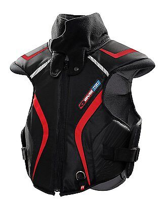 EVS Sports SV1 Trail Protective Snow Vest Black / Red XSMALL/SMALL