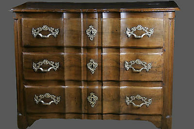 """Commode arbalète Louis XIV / Chest of drawers """"crossbow"""" Louis XIV"""