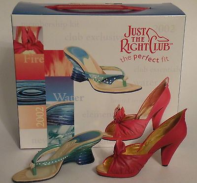 Just The Right Shoe (2002 Membership Kit) FIRE & WATER Items # 90203 & 90204
