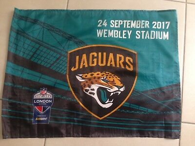 NFL Wembley 2017 Fan Flag Jaguars