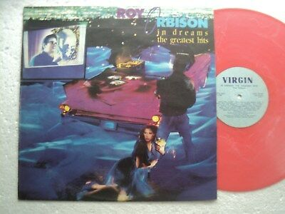Roy Orbison - In dreams the Gr. Hits- Super rare ZIMBABWE only PINK VINYL LP NEW