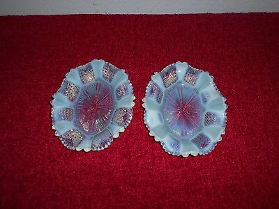 Pair Davidson Pearline Dishes